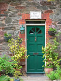 Country house door Royalty Free Stock Photo
