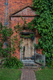 A country house doorway Stock Photo