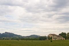 Country house in Emilia-Romagna Stock Image