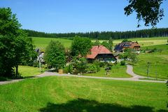 Country house and Farmhouse in the Black Forest Stock Images