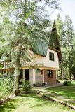 Country House In Forest Royalty Free Stock Photo