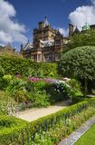 Country house and garden Royalty Free Stock Image