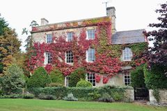 Country House and Garden Royalty Free Stock Images