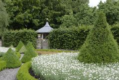 Country house garden Stock Image