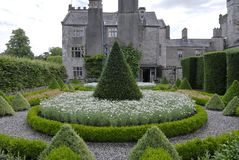 Country house garden Royalty Free Stock Photo