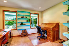 Country house home office interior. Stock Photography