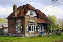 Country house in the Netherlan Stock Photos