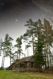 Country house at night. Stock Photography