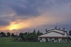 Country house in Rovigo Royalty Free Stock Photos