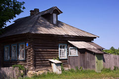 Country house in the russian village Royalty Free Stock Photography