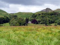 Country House in Scottish Landscape Stock Photos