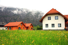 Country House in spring Royalty Free Stock Image