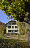 Country house from Switzerland royalty free stock photos