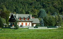 Country House in Switzerland Stock Images