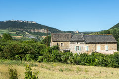 Country house in the Tarn valley Royalty Free Stock Photography