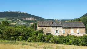 Country house in the Tarn valley Royalty Free Stock Images