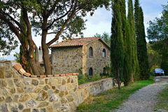 Country house in Tuscan, Italy Stock Image