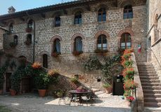 Country house, Tuscany, Royalty Free Stock Image