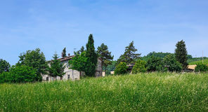 Country house in Tuscany Stock Images