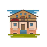Country house vector Stock Photography