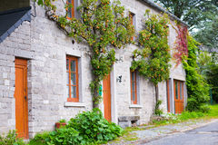 Country house view in France Royalty Free Stock Photography