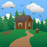 Country House Stock Photography