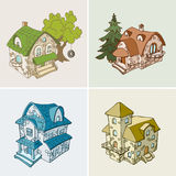 Country houses Stock Photos