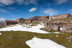 Country houses in Picos de Europa Royalty Free Stock Images