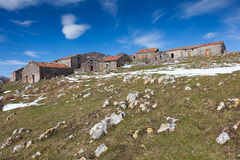 Country houses in Picos de Europa Stock Photo