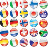 Country Icons Stock Images