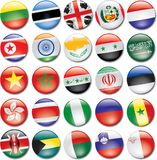 Country Icons Royalty Free Stock Photo