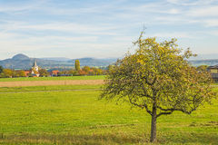Country idyll in Germany Royalty Free Stock Photography