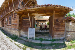 Country inn in the Balkan village in Bulgaria Stock Images