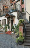 Country inn located in the Mosel wine region of Germany Stock Photo