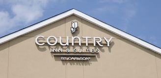 Country Inn and Suites Sign Stock Images