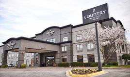 Country Inn and Suites, Wolfchase Memphis stock photo