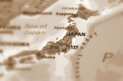 Country of Japan stock photography