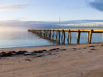 Country Jetty. A jetty in a small country Australian town Stock Images
