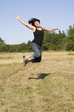 Country Jump Royalty Free Stock Photography