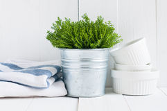 Country kitchen decoration Stock Photo