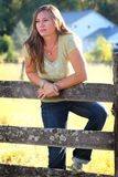 Country Lady Stock Photography