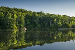 Country Lake Royalty Free Stock Images
