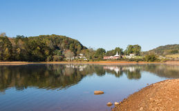 Country Lake Scene Royalty Free Stock Photography