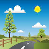 Country Landscape Royalty Free Stock Image