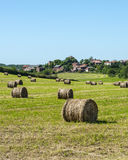Country landscape in Aveyron (France) Stock Images