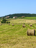 Country landscape in Aveyron (France) Stock Photo