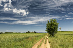 Country landscape in Brianza (Italy) Stock Images