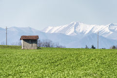 Country landscape in Brianza Stock Photo