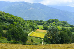 Country landscape in Lazio (Italy) Stock Photos