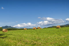 Country landscape in Midi-Pyrenees (France) Royalty Free Stock Photography
